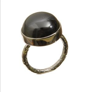 [Emily Rose Gems] hematite ring